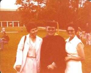 Dad graduating